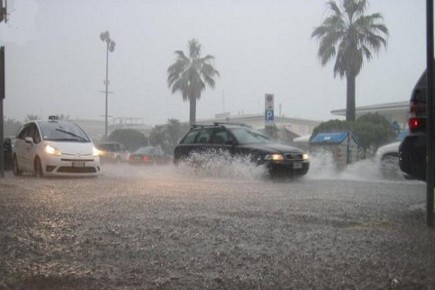 Vento e pioggia sferzano la Sicilia$