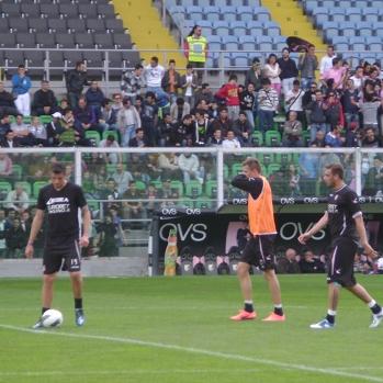Calcio, Palermo: test in famiglia al